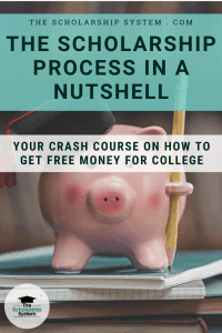 The Scholarship Process in a Nutshell: Crash Course