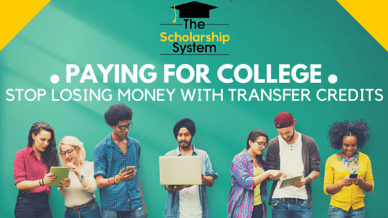 Paying for College - Saving Money with college credits transfer