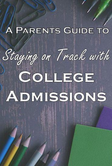 preparing for college admissions
