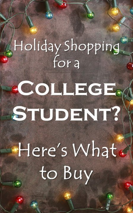 Holiday shopping for a college student can feel like a challenge. If you want the perfect holiday gift, here are some great options.