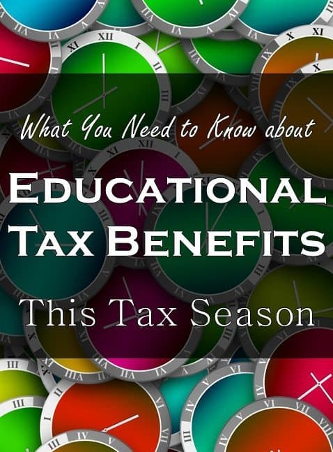 education credits and tax deductions