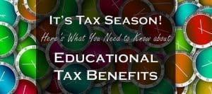 Tax Season! Here's What You Need to Know about Education Credits