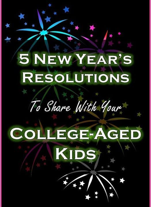 New Year's Resolutions to share with your kids