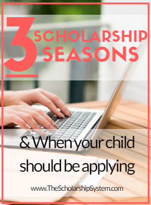 3 scholarships seasons for applying for scholarships: knowing when to start applying