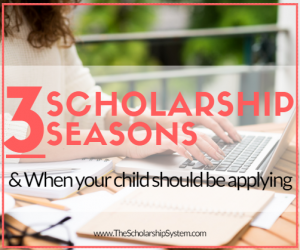 When Your Child Should Start Applying for Scholarships