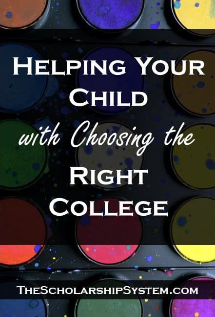 tips and guidance for helping your child choose the right college