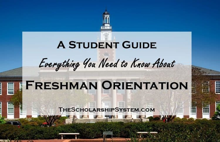 A Student Guide to Freshman Orientation