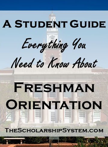A Student Guide to Freshman Orientation - Tall