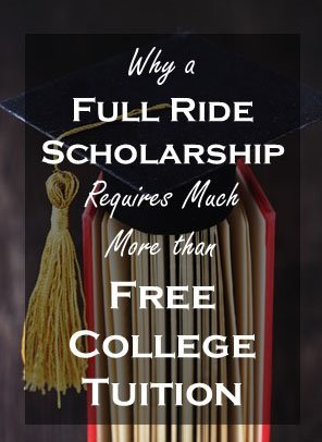 Full Ride Scholarship Additional Costs - Tall
