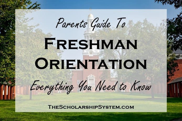 Parents Guide to Freshman Orientation