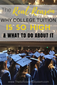The real reason college tuition is so high and what you can do about it #college #scholarships #education