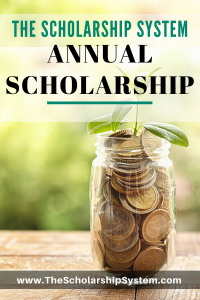 annual Scholarship Opportunity #scholarship #college