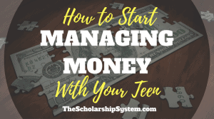 How to Start Managing Money with Your Teen