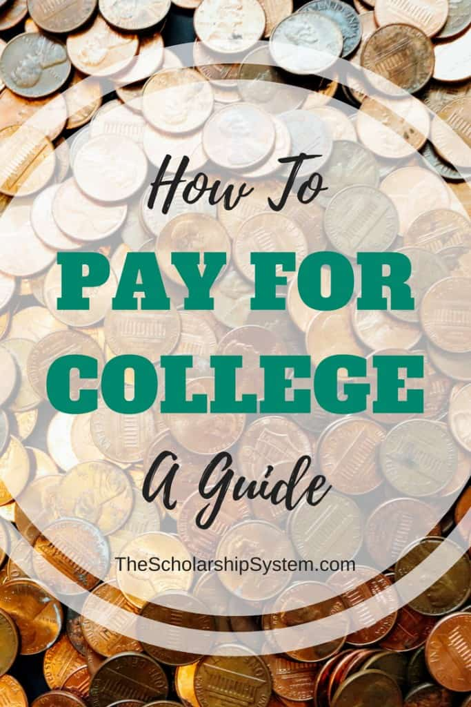 A guide with professional tips on how to pay for college #college #education #scholalrships