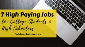 high paying jobs for college students