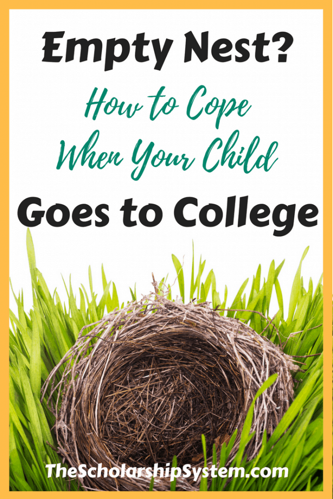Empty Nesters - how to cope when your child goes to college #college #parents #education