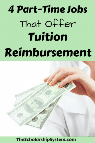 part time jobs that offer tuition reimbursement #tuition #funding #college