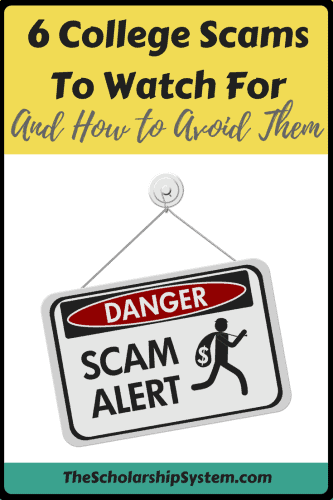 College scams to be aware of and to avoid them #scams #college #education #scholarships