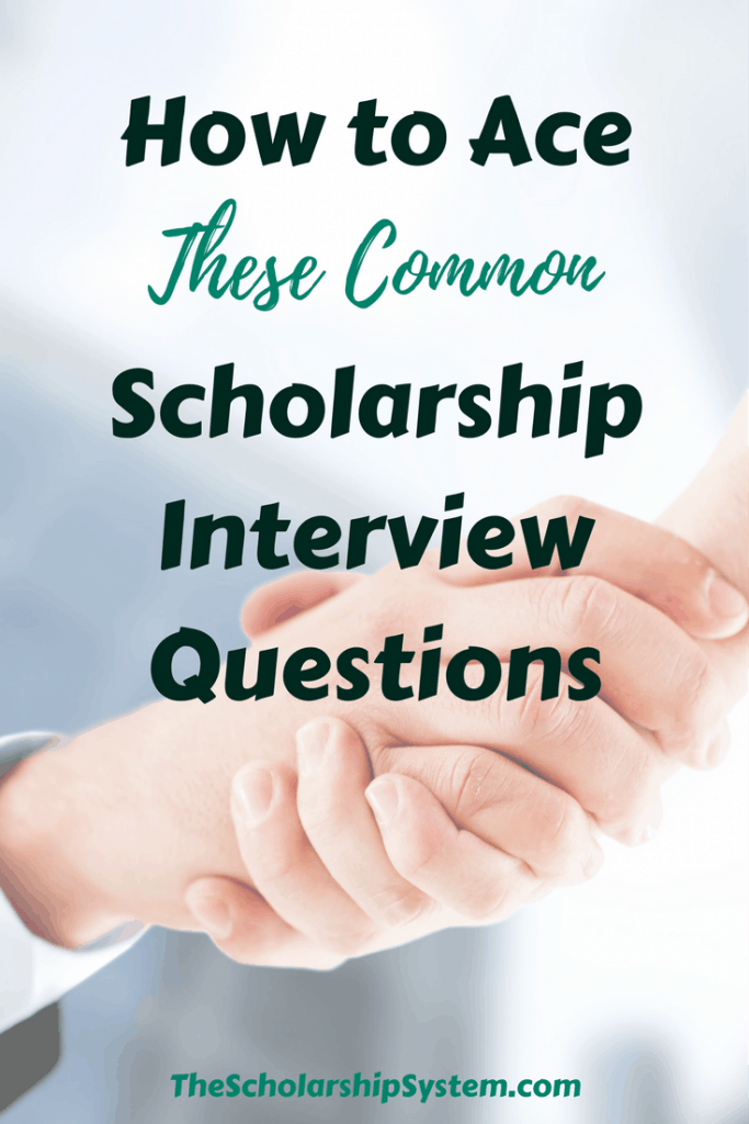 Scholarship interviews are growing in popularity. Is your child prepared? To make it easier, here are tips for answering common scholarship interview questions. #interview #college #scholarship