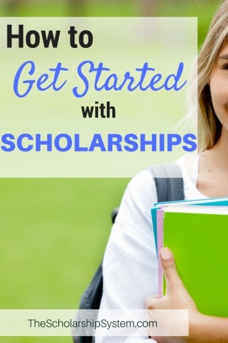 tips on how to get started with scholarships #scholarships #college #funding