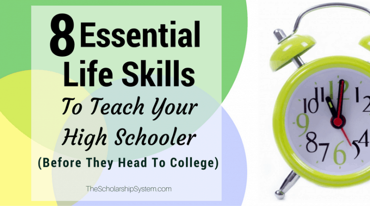 Skills to learn before college