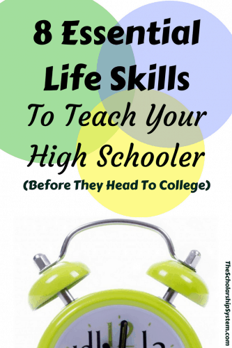 life skills to teach your high schooler before college #college #education