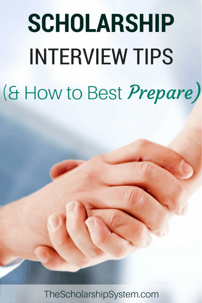scholarship interview