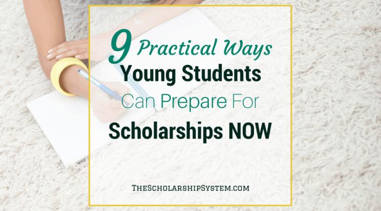 freshman in high school, sophomores in high school scholarships