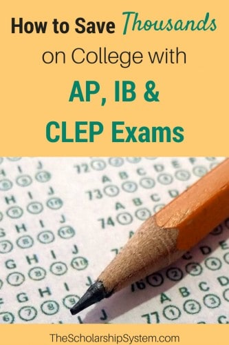 saving thousands by taking AP, IB and clep exams #college #saving