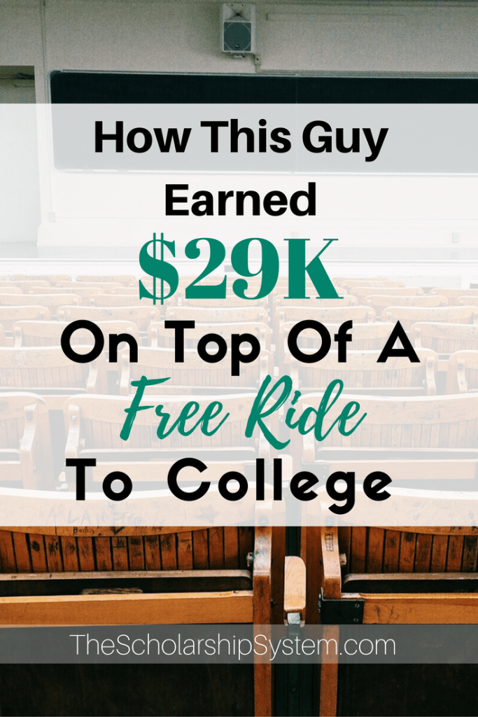 earning extra money throughout college #scholarships #freeride #funding