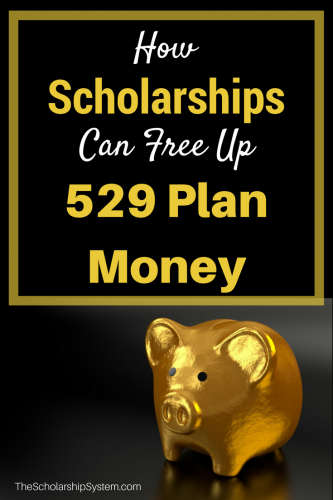 Freeing up  529 plan money with scholarships #scholarships #529