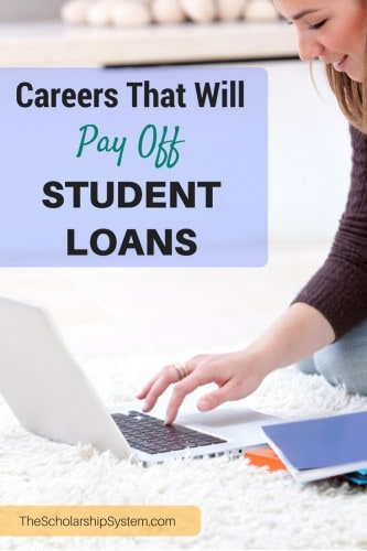 careers that will pay off student loans #college #careers #education