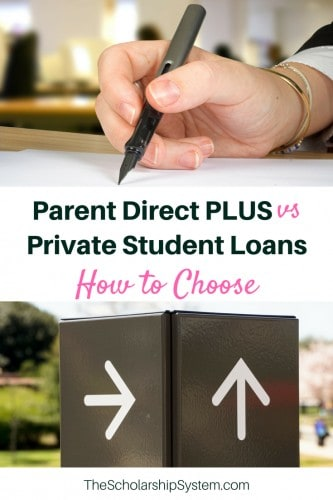 direct plus vs private student loans #students #college #funding