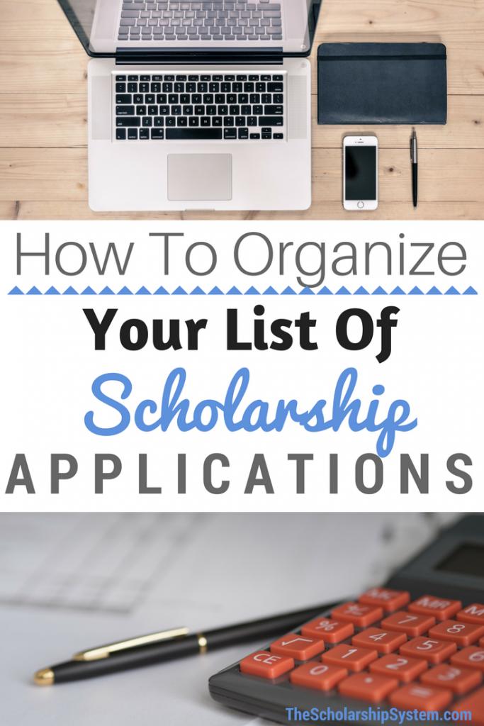 Organizing scholarship essays #scholarships #essay #college