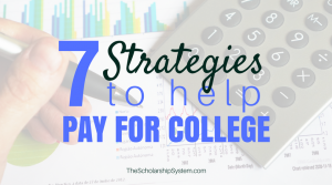 7 Things You Can Do to Pay for College