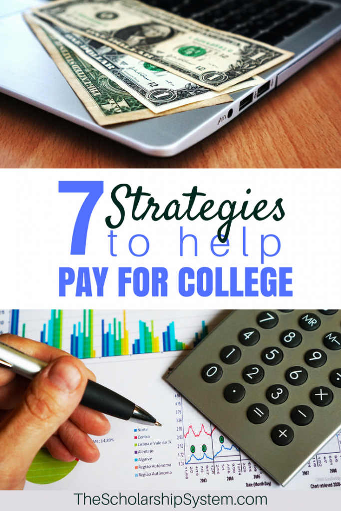 helpful tips and strategies for paying for college