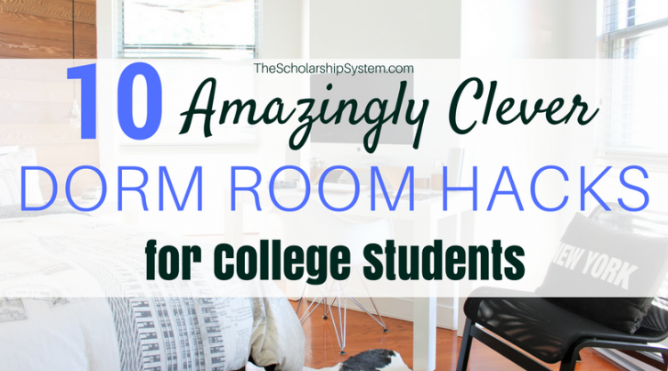 dorm room hacks