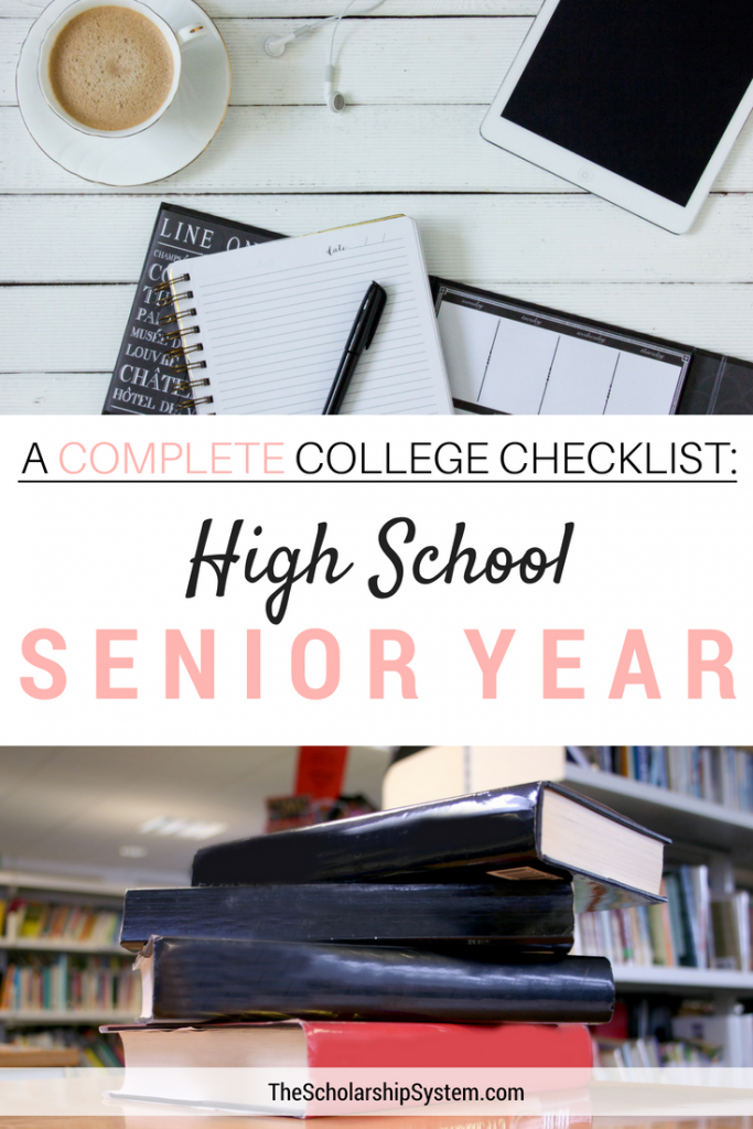 College checklist for high school seniors #college #students