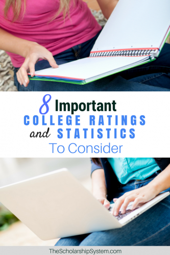 Prepare for college by knowing important ratings and statistics about your favorite colleges. #collegestatistics