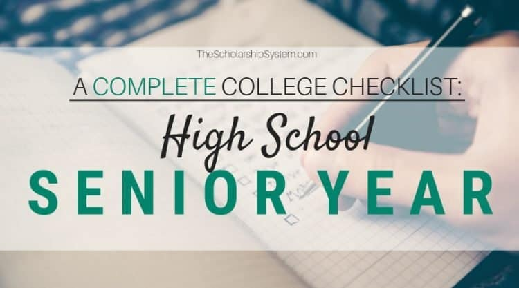 For Class of 2019: Your student's high school senior year can be overwhelming when trying to prepare for college. But with a little preparation and organization it doesn't have to be. Here's what you need to know.
