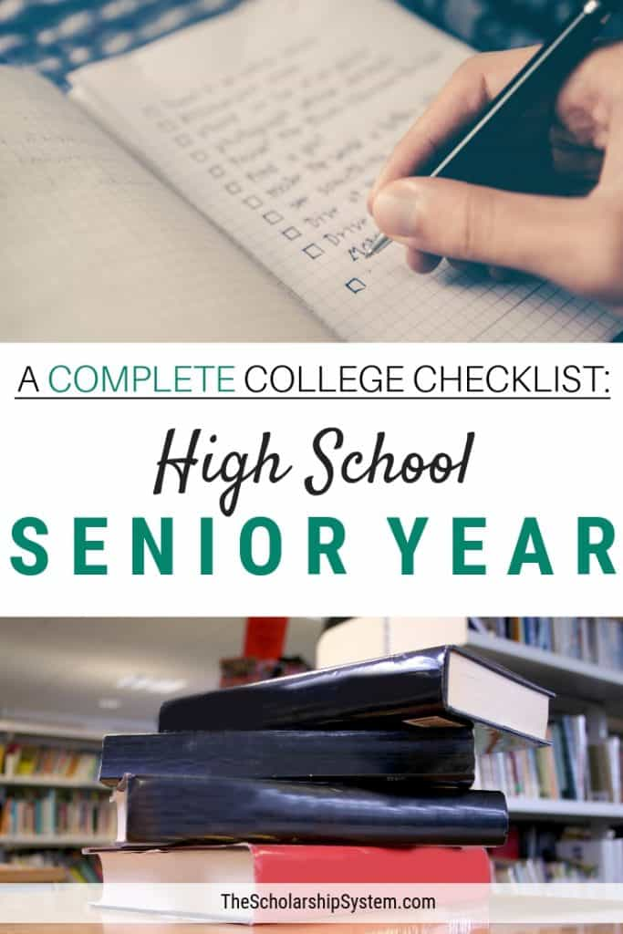 A student's high school senior year can be overwhelming when trying to prepare for college but it doesn't have to be. Here's what you need to know.