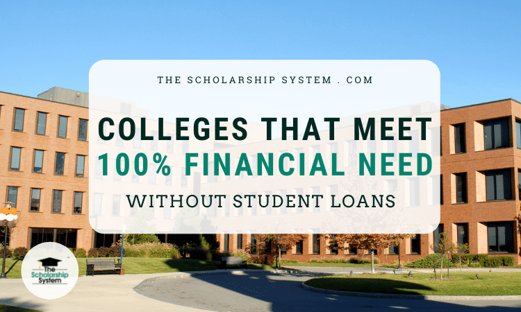 100% Financial Need
