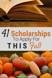 Fall scholarships #scholarships #students