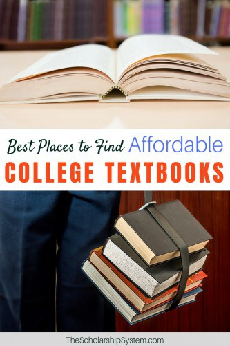 Best places to find affordable college textbooks #college #students