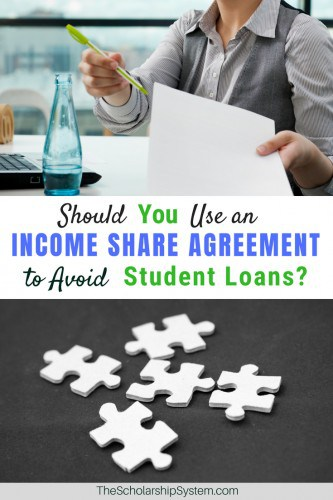 Should you use an income share agreement to avoid student loans #studentloans #college