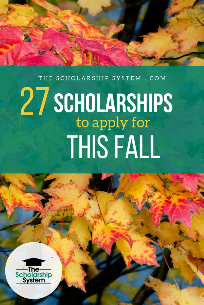 Summer break has ended, school has resumed, and your student's commitment list continues to grow but don't let these scholarships opportunities slip by. Here are 27 scholarships to apply for this fall.