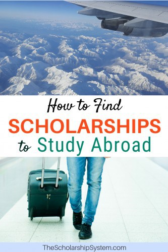 How to find scholarships to study abroad