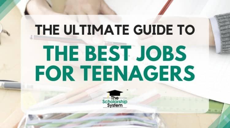 best jobs for teenagers