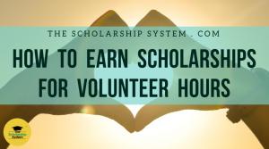 Scholarships for Volunteer Hours