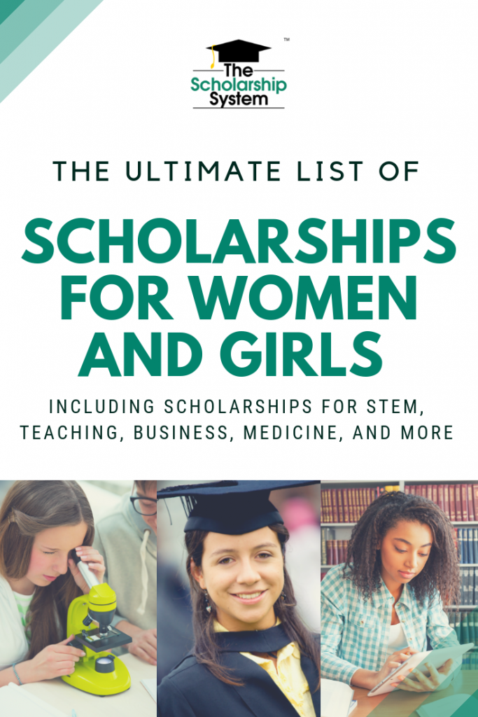 College can be expensive. That's why scholarships for women are so valuable. Here is the ultimate list of scholarships for women and girls.